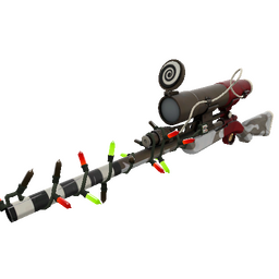 Festive Airwolf Sniper Rifle (Minimal Wear)
