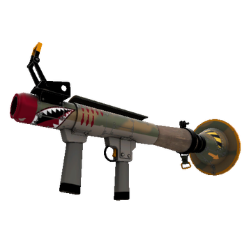Warhawk Rocket Launcher TF2 Skin Preview