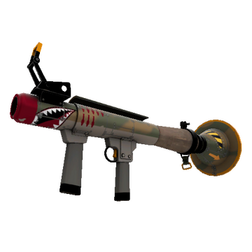 TF2 Skin - Warhawk Rocket Launcher Skin Preview