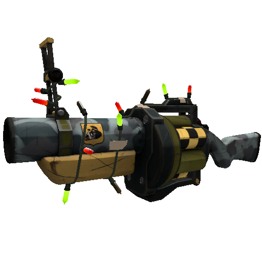 Wicked Nasty Unusual Professional Killstreak Grenade Launcher