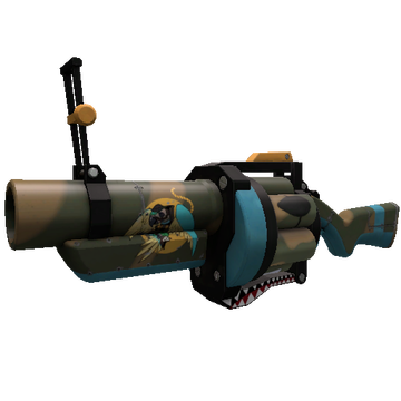 Warhawk Grenade Launcher TF2 Skin Preview