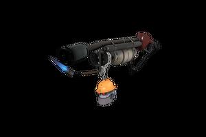 Strange Silver Botkiller Flame Thrower Mk Ii