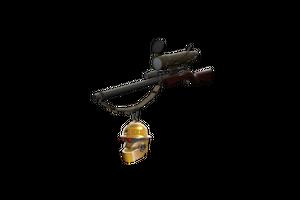Strange Gold Botkiller Sniper Rifle Mk Ii
