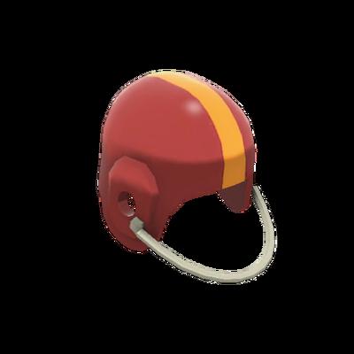Футбольный шлем старой закалки