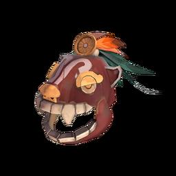 Strange Aztec Warrior