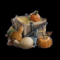 Осенний ящик с тыквами 2013 , тираж №73