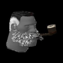 Новомодные бакенбарды и трубка лорда Коксвейна