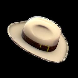 Шляпа из крокодиловой кожи