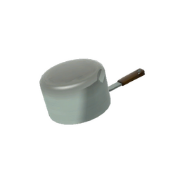Strange Stainless Pot