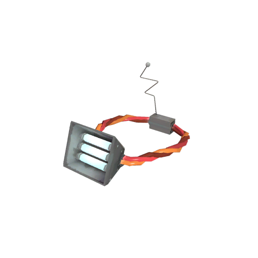Smoking Halogen Head Lamp