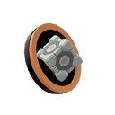 Genuine Companion Cube Pin