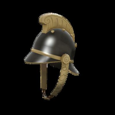 Винтажный шлем пожарного