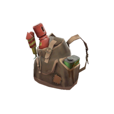 Ранец с пиротехникой
