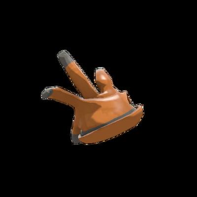 Наглая резиновая перчатка