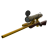 Unremarkable Killstreak Australium Sniper Rifle