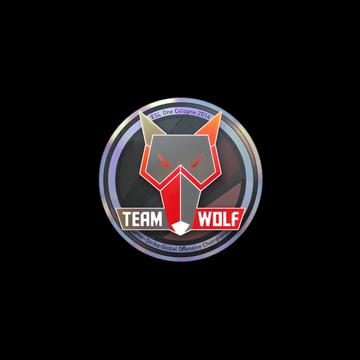 MTS GameGod Wolf (Holo)