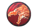 Skin Sticker Howling Dawn