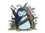 Skin Sticker | War Penguin