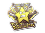 Skin Sticker | Shooting Star Return