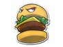 Skin Sticker | Bossy Burger