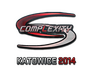 Skin Sticker | compLexity Gaming (Holo) | Katowice 2014