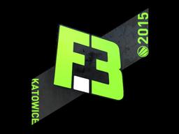 Наклейка | Flipsid3 Tactics | Katowice 2015