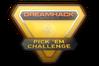 Gold DreamHack Winter 2014 Pick'Em Challenge Trophy