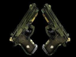 StatTrak™ Dual Berettas | Retribution