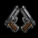 Dual Berettas | Черная лимба