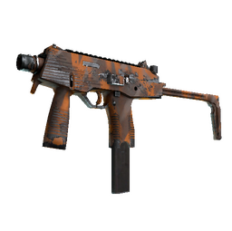Souvenir MP9 | Orange Peel (Well-Worn)
