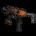 MP9 | Rose Iron (Minimal Wear)