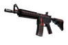 Souvenir M4A4 | Radiation Hazard (Field-Tested)