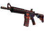 Skin M4A4 | Radiation Hazard