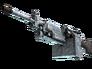 Skin M249   Blizzard Marbleized