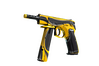 StatTrak™ CZ75-Auto | Yellow Jacket (Minimal Wear)
