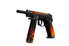 CZ75-Auto | Tigris (Battle-Scarred)