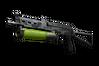 Souvenir PP-Bizon | Chemical Green (Battle-Scarred)