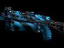 Скин ПП-19 Бизон   Синяя струя