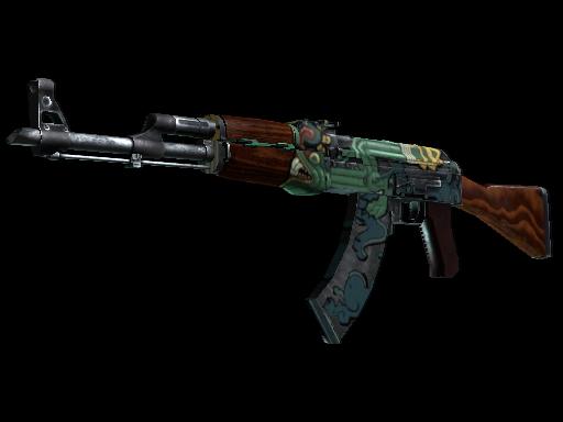 Skin AK-47 Fire Serpent Field-Tested