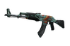 StatTrak™ AK-47 | Aquamarine Revenge (Battle-Scarred)