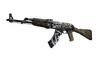 StatTrak™ AK-47 | Wasteland Rebel (Well-Worn)