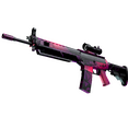 StatTrak™ SG 553 | Pulse (Minimal Wear)