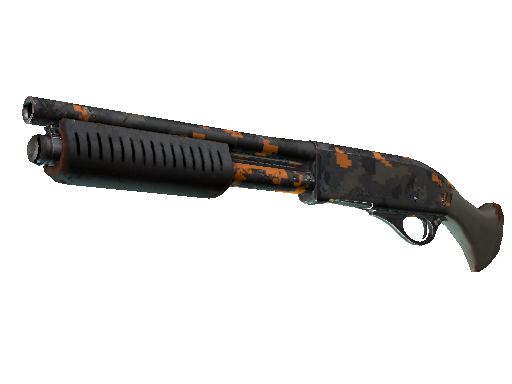StatTrak™ Sawed-Off | Orange DDPAT