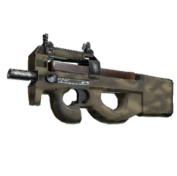 Souvenir P90 | Sand Spray (Well-Worn)