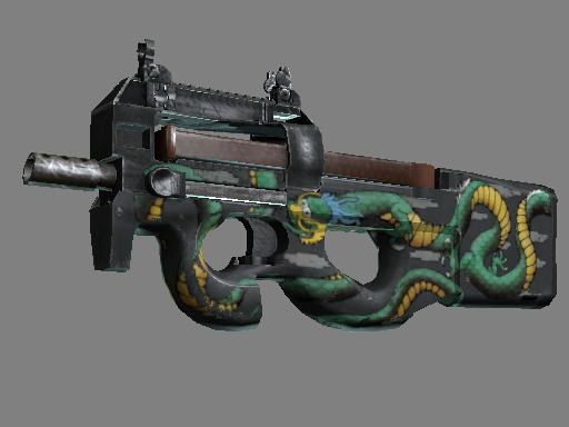 P90 | Emerald Dragon