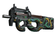 P90 | Emerald Dragon