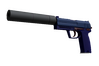 Souvenir USP-S | Royal Blue (Minimal Wear)
