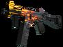 Skin UMP-45 | Blaze