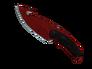 Gut Knife - Crimson Web
