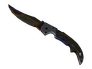 Skin Falchion Knife | Case Hardened